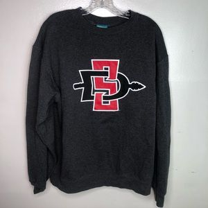 Champion San Diego State Men's Black Sweatshirt L